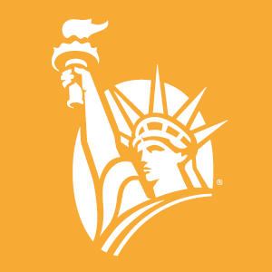 statue of liberty, liberty mutual insurance logo