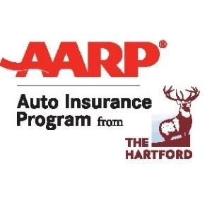 AARP - Auto Insurance Program - The Hartford (a deer) - Logo