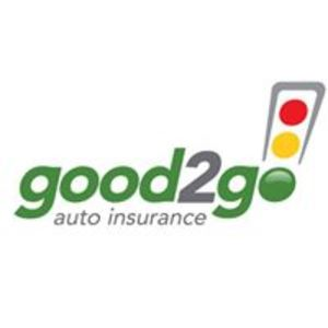 good2Go auto insurance Logo with a traffic light.