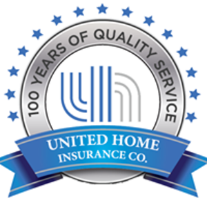 united home insurance company logo - 100 years of quality service