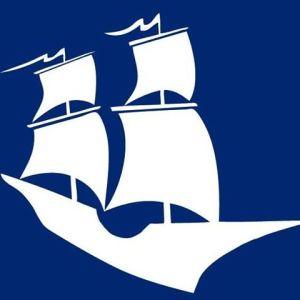 ship silhouette, arbella insurance group logo