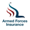 Waving American Flag, Armed Forces Insurance (afi) Logo