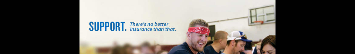 american family insurance  (amfam ) banner - Inspiring, protecting and restoring dreams. for over 90 years.