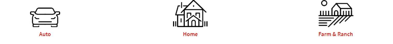 Sketch of a  Auto, Home, Farm & Ranch coverage through Nodak Insurance