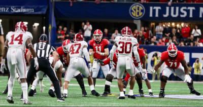 Georgia football-UGA-Alabama-SEC Championship