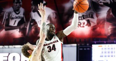 Georgia basketball-UGA-Derek Ogbeide