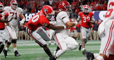 Georgia football-UGA-Jalen Hurts-J.R. Reed-Georgia-Georgia football-Georgia Bulldogs-Alabama-Alabama football-Alabama Crimson Tide-SEC Championship