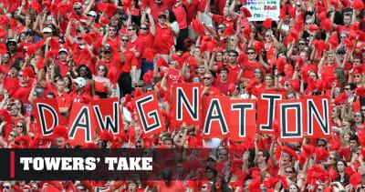 Georgia football-Towers Take-A salute to Aubrey Garrison and fans like him-Georgia Bulldogs