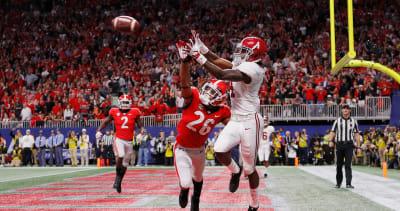Jerry Jeudy-Georgia-Georgia football-Georgia Bulldogs-Alabama-Alabama football-Alabama Crimson Tide-SEC Championship
