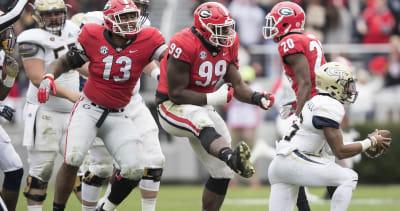 Georgia football-spring preview-Jordan Davis is Bulldogs' man in the middle-Georgia Bulldogs