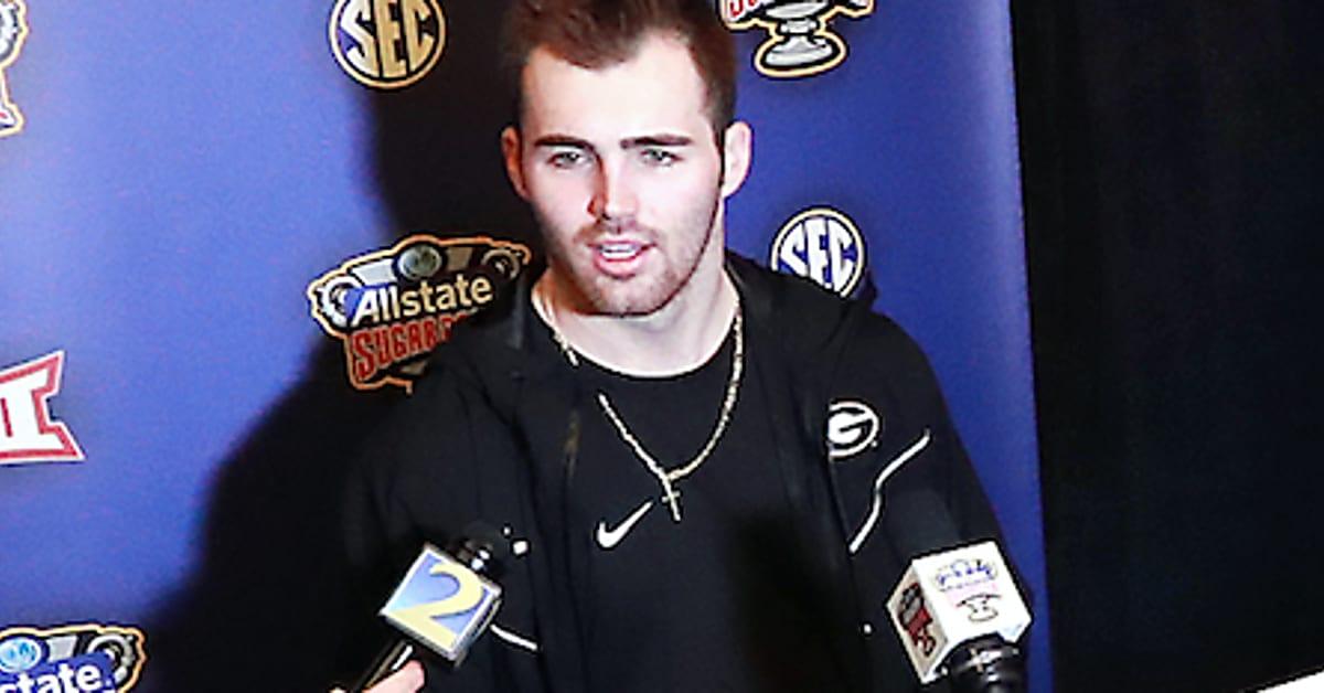 WATCH: Georgia QB Jake Fromm brings tears to ESPN reporter Holly Rowe