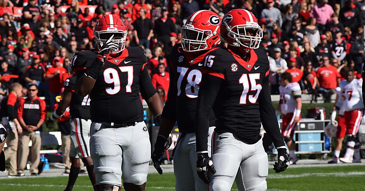 779d54328d2 Georgia football coach Kirby Smart reveals black jersey philosophy