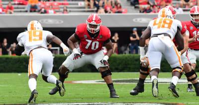 Georgia's Warren McClendon continues Kirby Smart's FWAA Freshman All-American streak