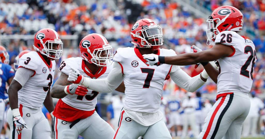Georgia-South Carolina football: TV channel, time, live ...