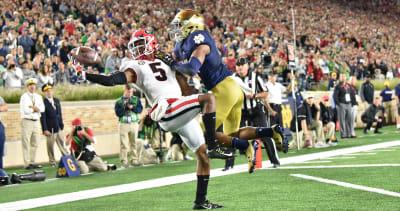 Georgia football-Notre Dame lost to Georgia but 2017 game was springboard for Irish too-Georgia Bulldogs-Notre Dame Fighting Irish