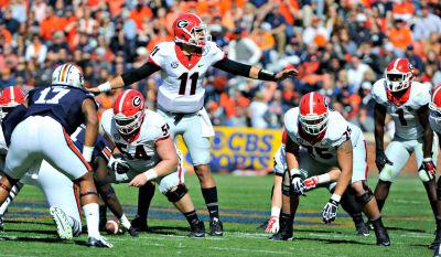 Greyson Lambert led a largely ineffectual Georgia offense. (John Kelley / UGA)