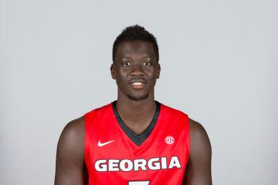 Georgia junior forward Pape Diatta. (UGA)