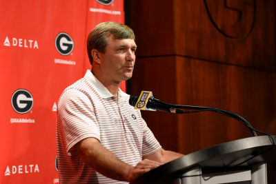 Generally, coaches have to earn the right to have a surly attitude. (David Barnes / UGA)