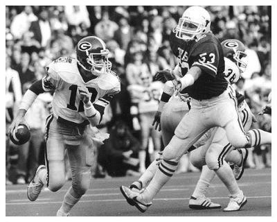 John Lastinger led the Dawgs to a major upset of Texas. (File)
