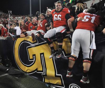 2013: Georgia @ Georgia Tech, W 41-34 2OT | Johnny Crawford/AJC