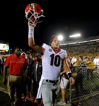 Georgia quarterback Jacob Eason Ed Zurga/Getty Images