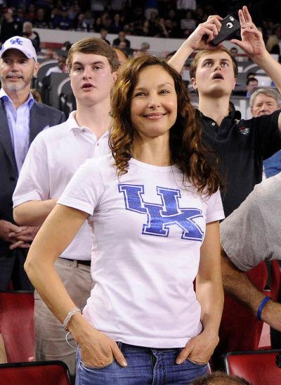 Ashley Judd at Stegeman Coliseum last year. (JOHN KELLEY/UGA)