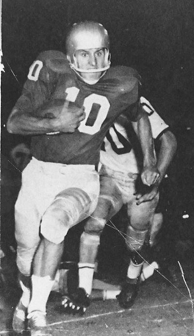 Fran Tarkenton, star of the 1959 SEC champion Dawgs, led Georgia to an Orange Bowl win. (University of Georgia)