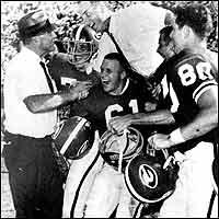 After the 1965 upset of Bear Bryant's Crimson Tide. (File)