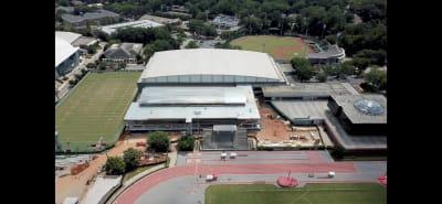 Georgia football-UGA-building