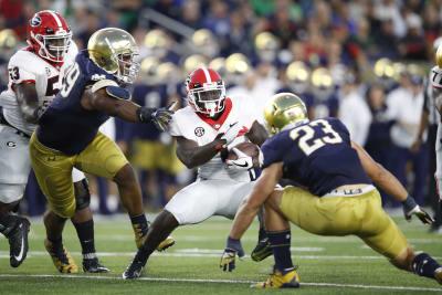 Georgia v Notre Dame 2017