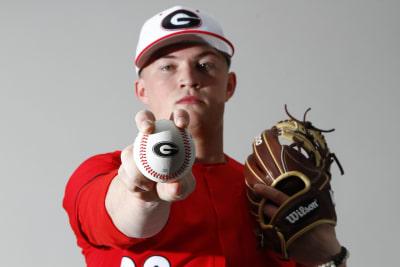 Georgia baseball-Adam Schunk-2018