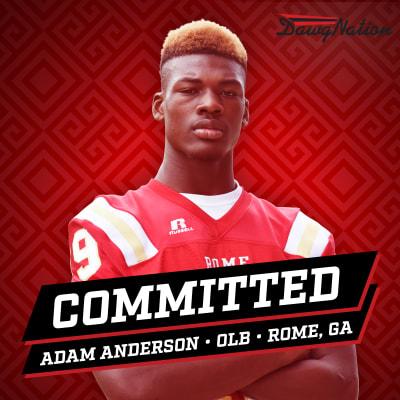 Adam Anderson-UGA recruiting