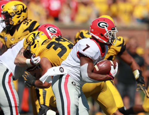 D'Andre Swift-Georgia football-Bulldogs-Missouri-UGA