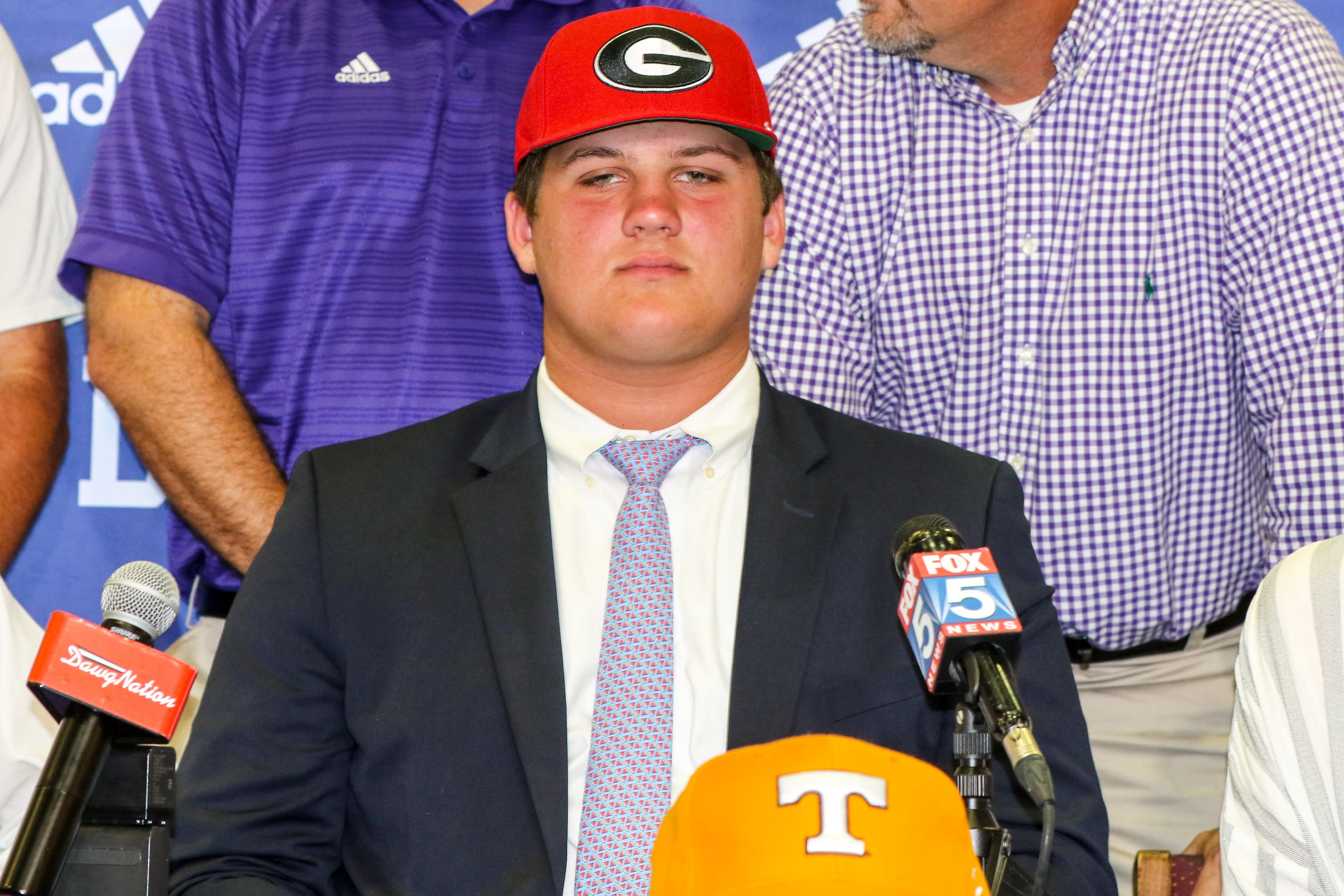 Tate Ratledge-UGA recruiting-Georgia recruiting