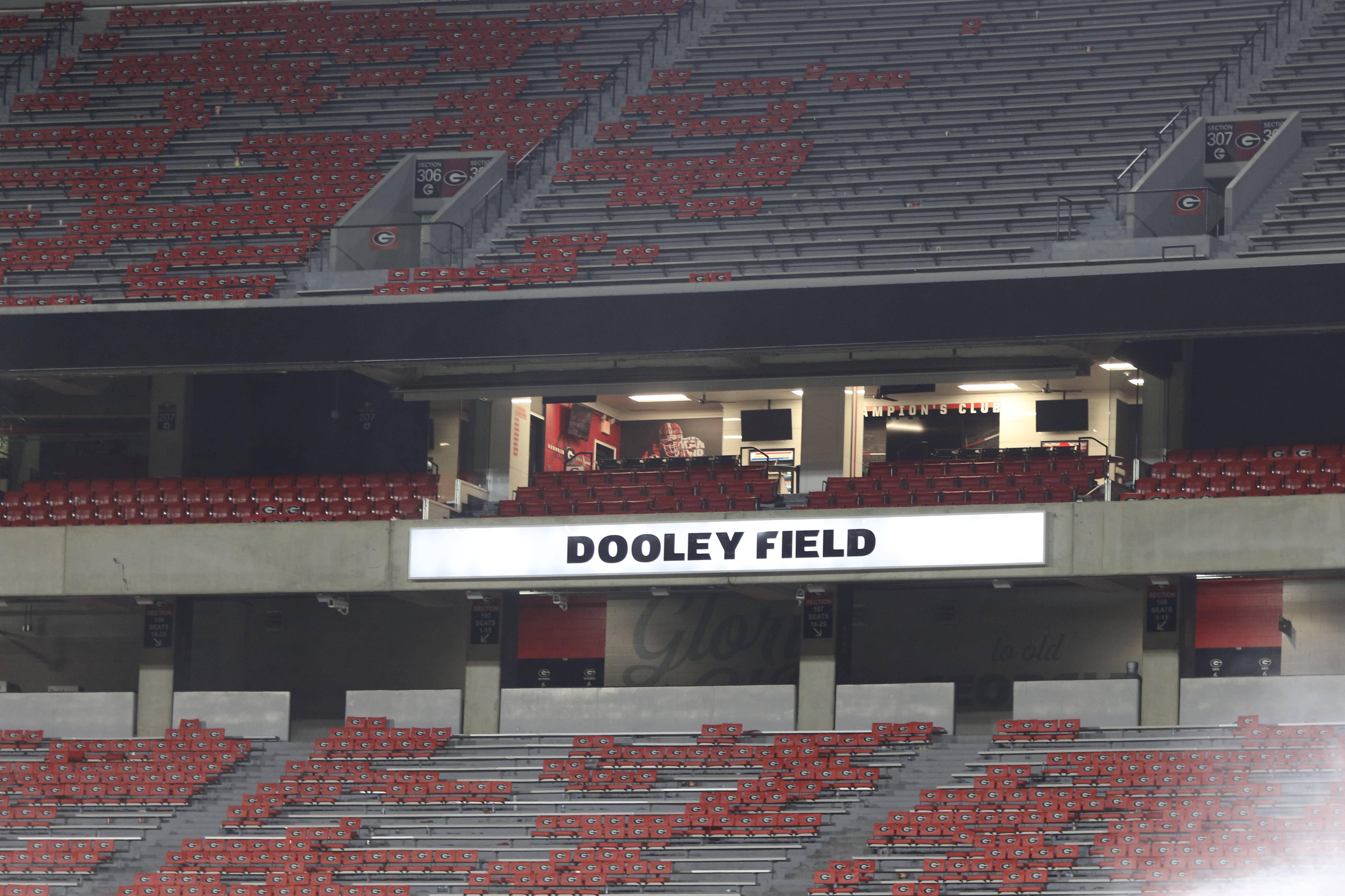 Vince Dooley-UGA football-Georgia football