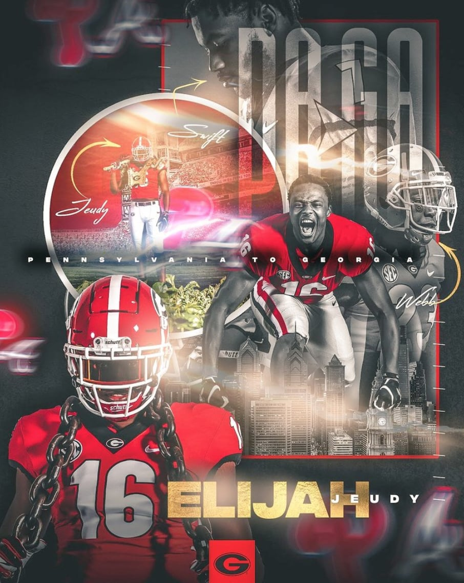 Elijah Judy-Georgia recruiting-UGA recruiting