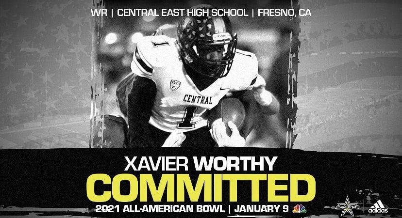 Xavier Worthy-Georgia recruiting-UGA recruiting