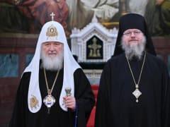 Слово Святейшего Патриарха Кирилла при вручении архиерейского жезла епископу Владикавказскому и Аланскому Герасиму