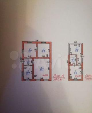 Дом 71.4 м² на участке 9 сот.