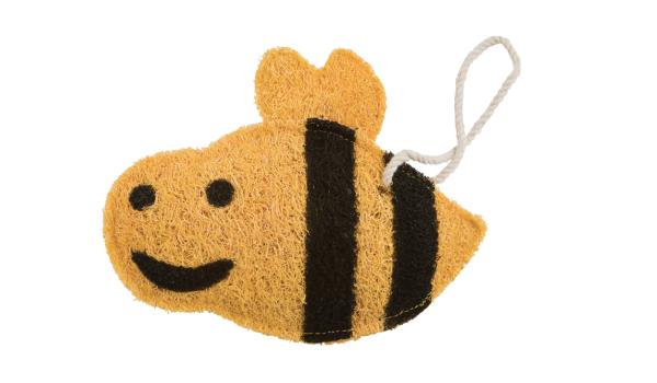 Loofah-Art Bumblebee