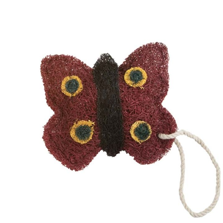 Red Butterfly Loofah