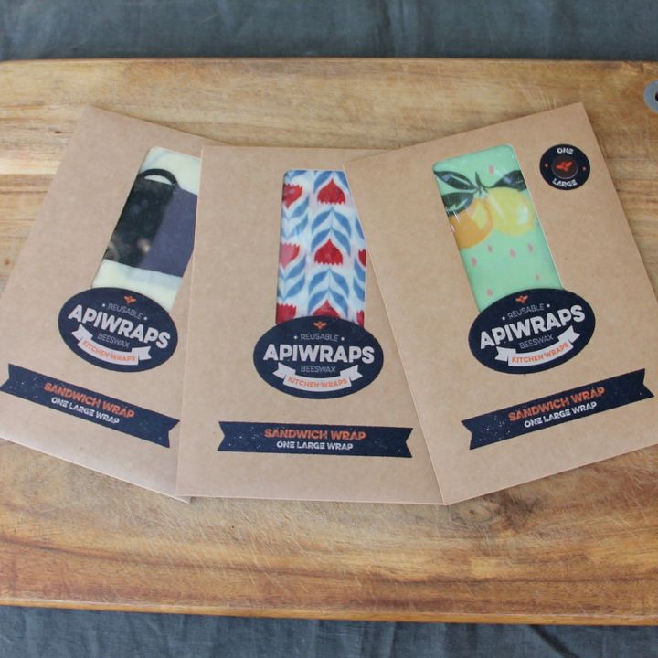 Apiwraps Multipack – Three Little Somethings (3 Sandwich Wraps)