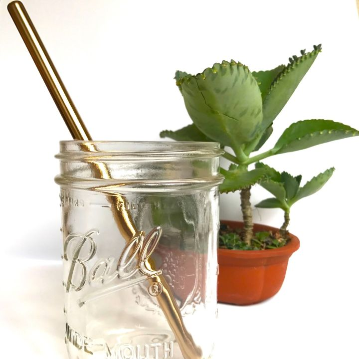 Stainless Steel Straw – Rose Gold Smoothie (304 grade)