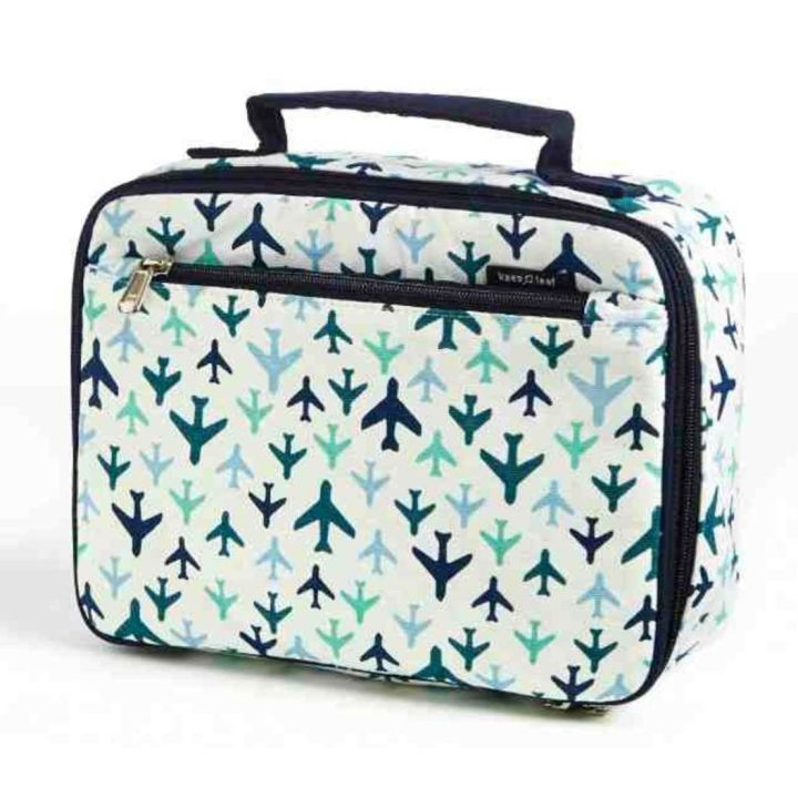 Cooler Lunch Box – Planes Design (with free snack bag)