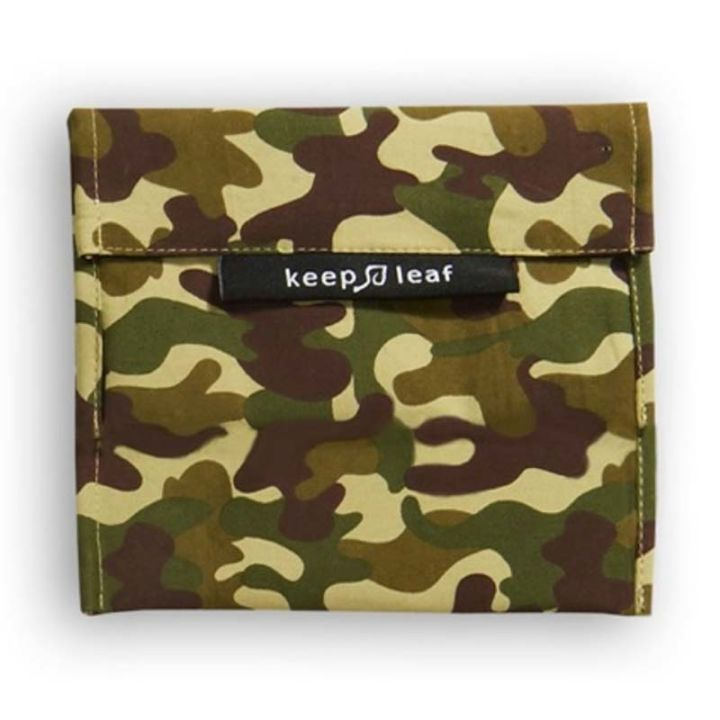 Reusable Snack Bag – Camo (Size L)
