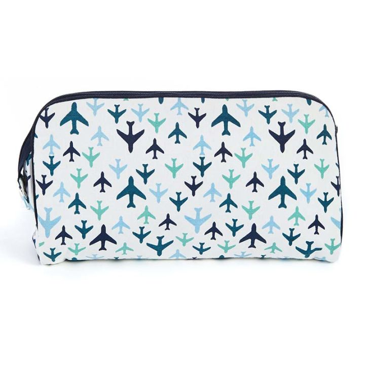 Keep Leaf – Toiletry Bag / Diaper Clutch (Planes)
