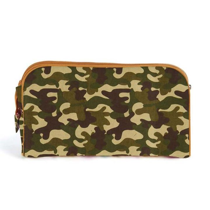 Keep Leaf – Toiletry Bag / Diaper Clutch (Camo)