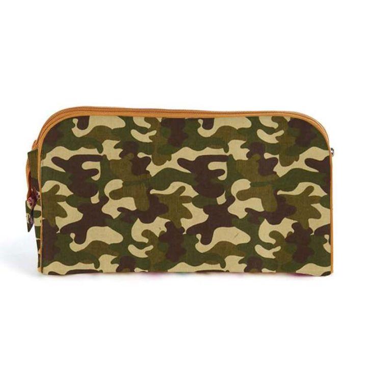 Keep Leaf – Toiletry Bag / Diaper Clutch (Camo)