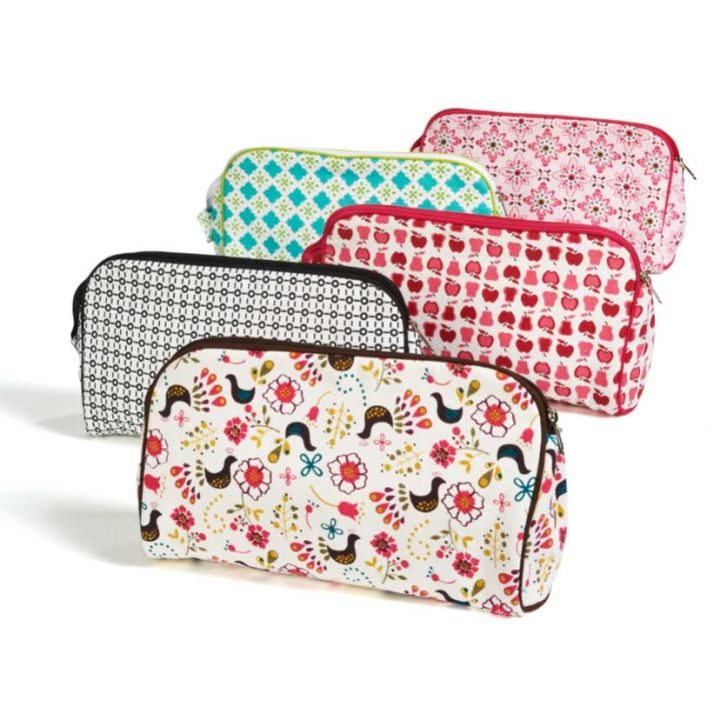 Keep Leaf – Toiletry Bag / Diaper Clutch (Birds)