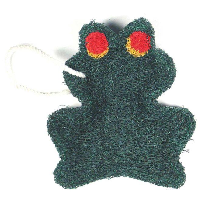 Green Frog Loofah